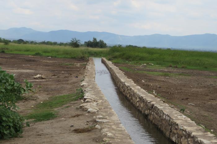 Boeren in Noord-Tanzania zetten hun schouders onder ambitieus irrigatieproject