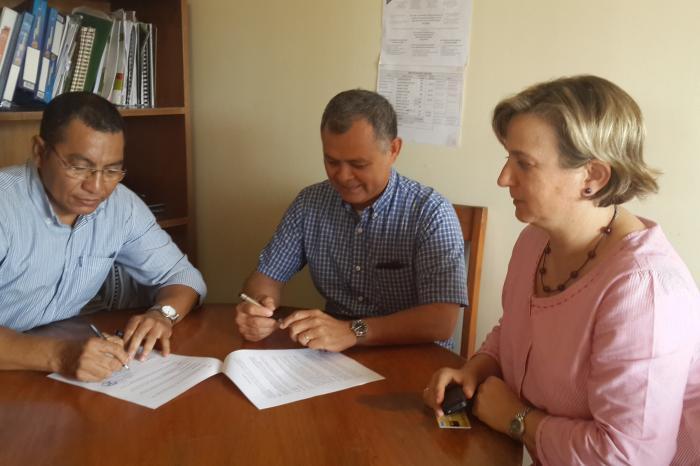 Acuerdo de colaboración entre RUTA-CAC y VECO MA