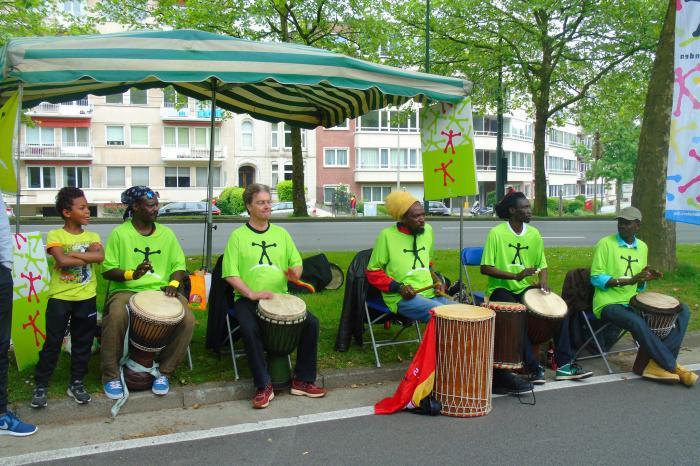 20km feest in Brussel