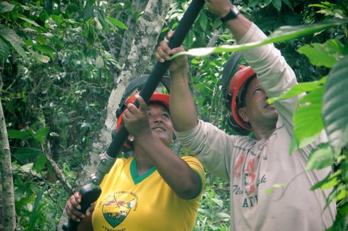 Grupo Dialogo Rural Ecuador coloca jóvenes en primera fila
