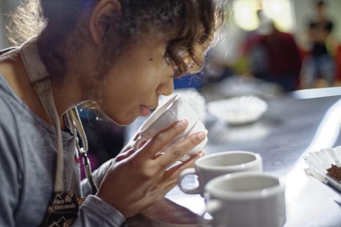 Future-proof coffee thanks to Karina in Ecuador