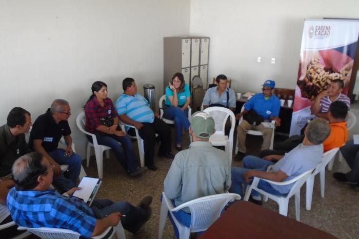 Consultoría de Sistematización del Proceso de Construcción de la Política del Sub Sector Cacaotero en El Salvador.