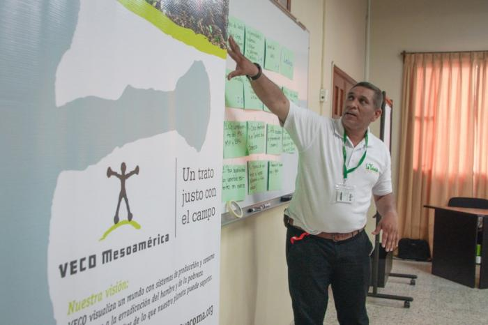 Co-creando Escuela de Campo en hortalizas en Honduras