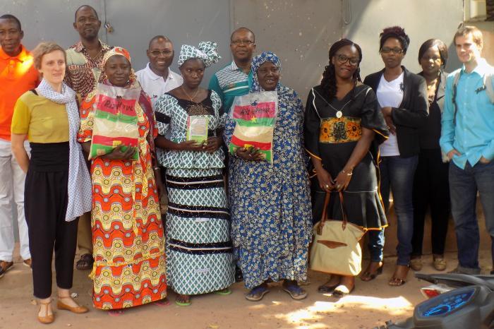 DGD visits Rikolto's partners in Burkina Faso