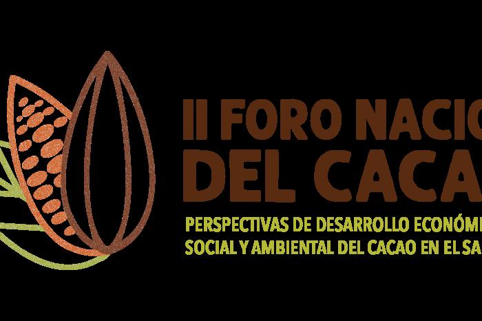 El Salvador inaugura su II Foro Nacional del Cacao.