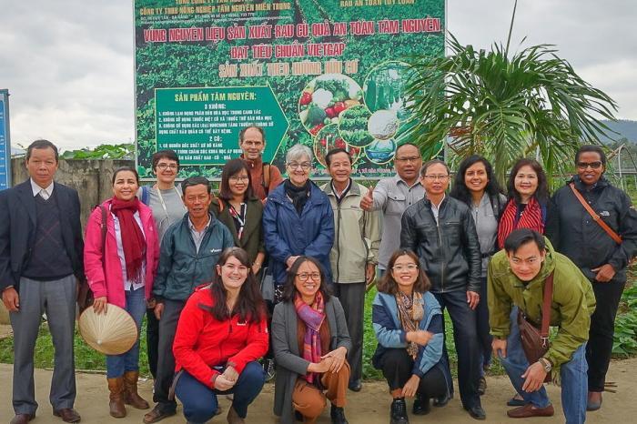 Tegucigalpa en clúster internacional de Ciudades por el Cambio Alimentario