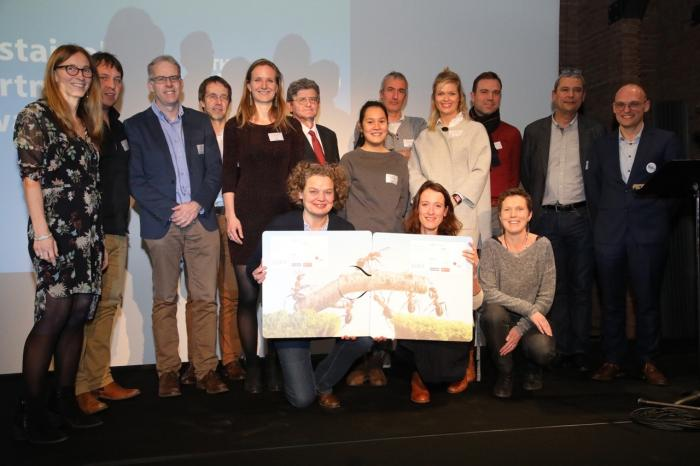 'Gezocht: Voedsel voor de Toekomst' wint Sustainable Partnerships Award