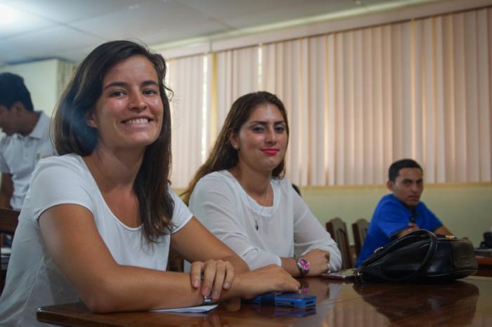 Jóvenes productores de cacao ganando espacios en la