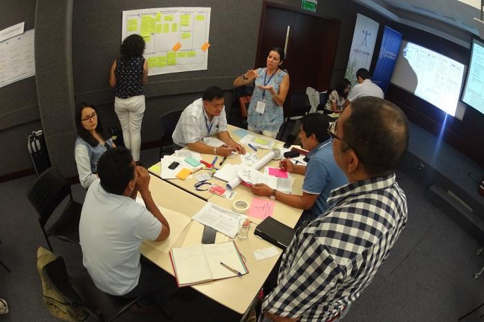 Se desarrolla taller de capacitación de metodología LINK en Lima, Perú.