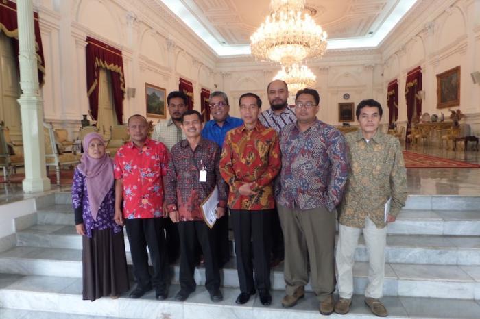 Lima Aspirasi Organisasi Tani kepada Jokowi
