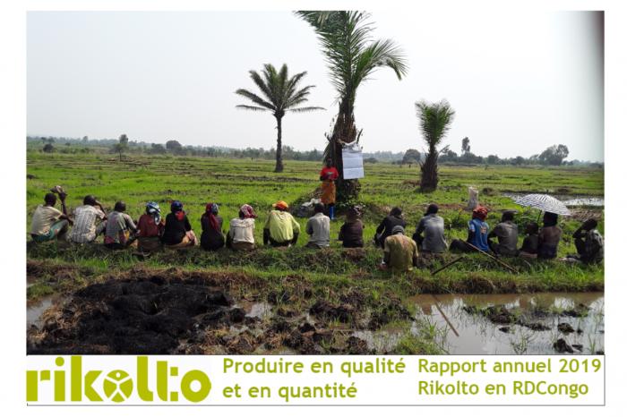 Produire en qualité et en quantité, le rapport annuel 2019 de Rikolto en RDCongo
