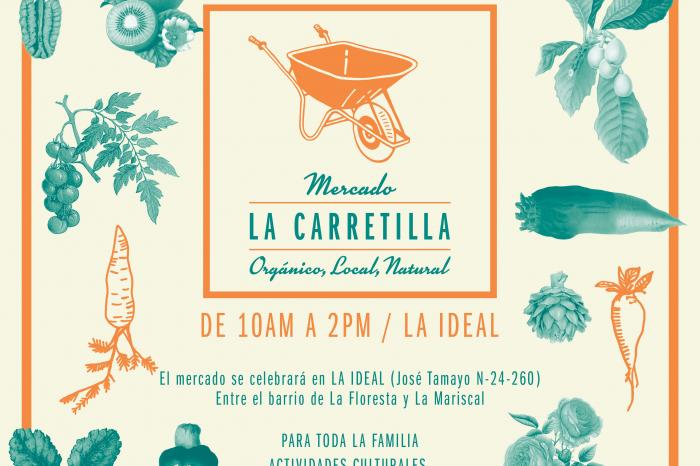 Feria Agroecológica de las productoras de UCCOPEM en la Carretilla el 8 de abril 2018