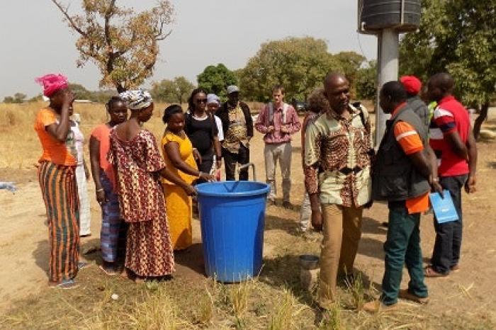 La DGD rend visite aux partenaires de Rikolto au Burkina