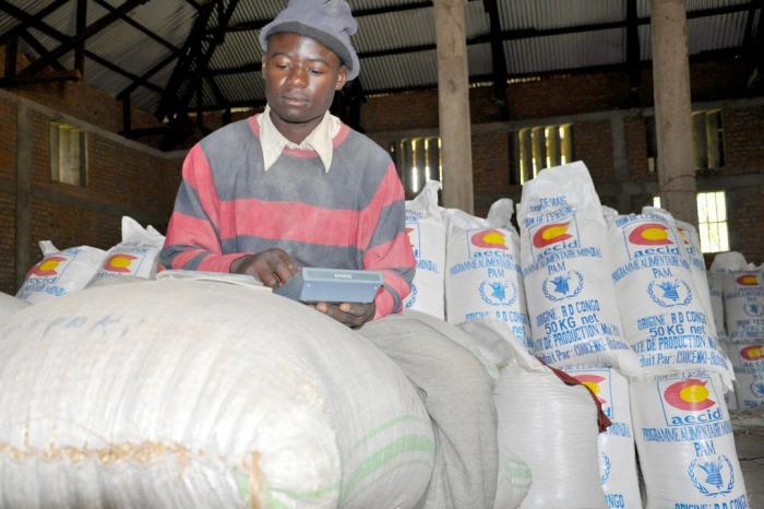 Voedselhulp... uit Congo