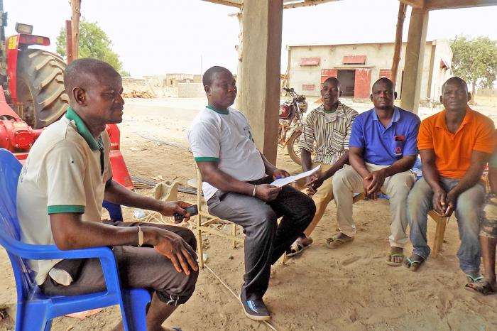 A youth cooperative makes its mark on the rice value chain in Bagré, Burkina Faso