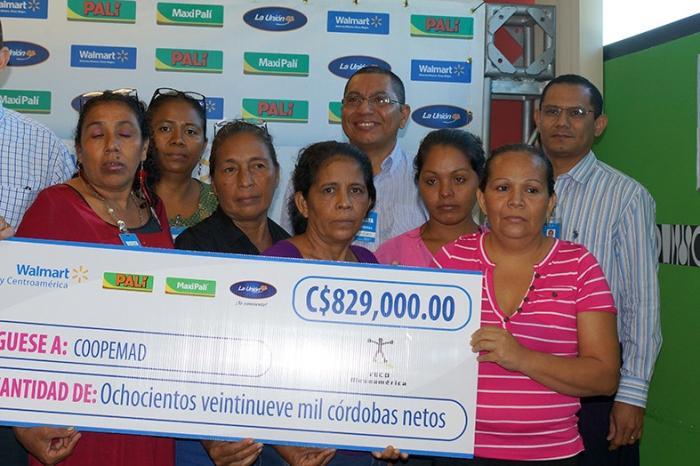 Las productoras de plátano de Posoltega se siguen empoderando con la ayuda de Walmart y VECO MA