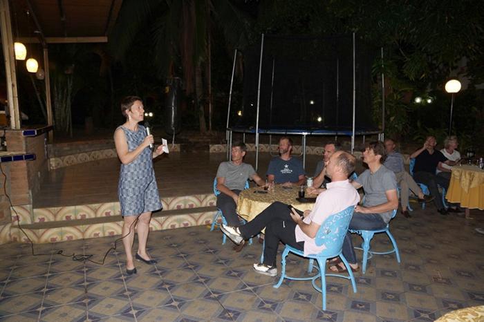 Tejiendo relaciones entre empresarios belgas y nicaragüenses