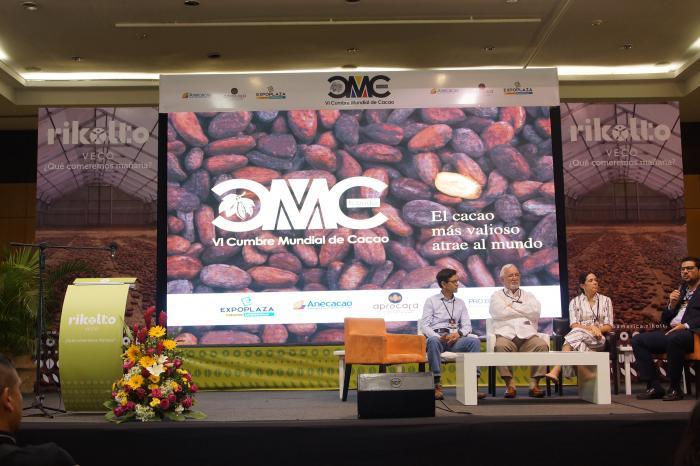 Cumbre Mundial de Cacao finaliza con éxito