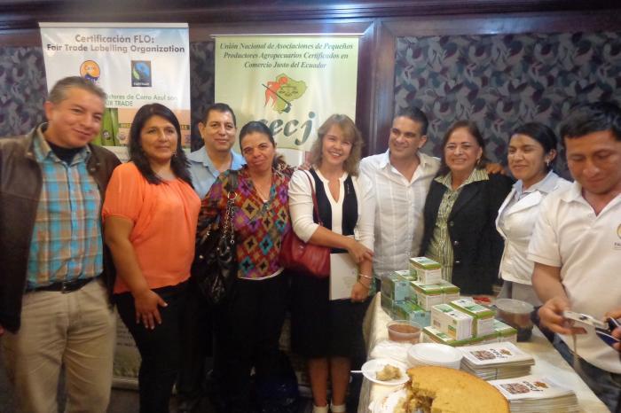 Lanzamiento de la Estrategia ecuatoriana de Comercio Justo en Guayaquil (Ecuador)