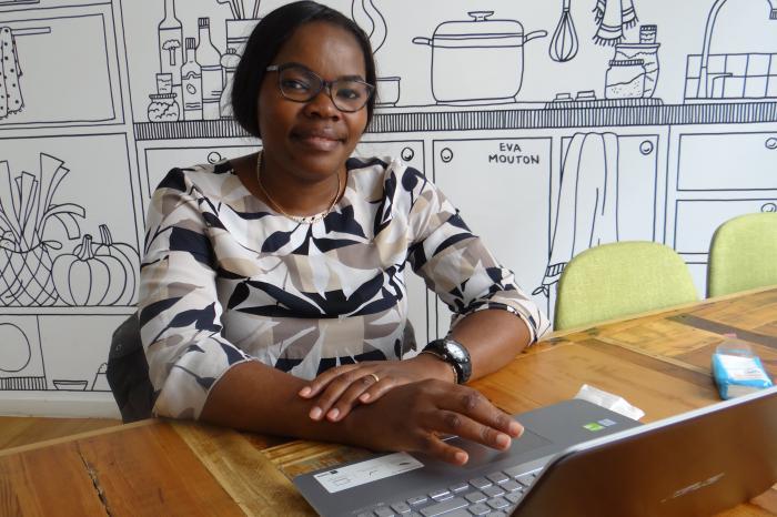 Ontmoet Germaine Furaha, coördinator van het rijstprogramma in Congo