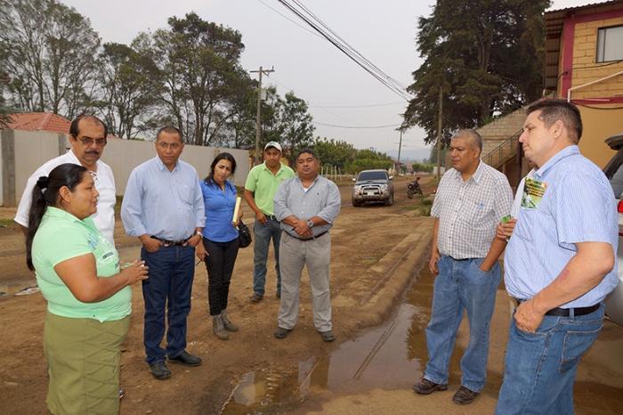 Una delegación de la Comisión Sectorial de Hortalizas y de APEN visitan la cadena de hortalizas de Honduras