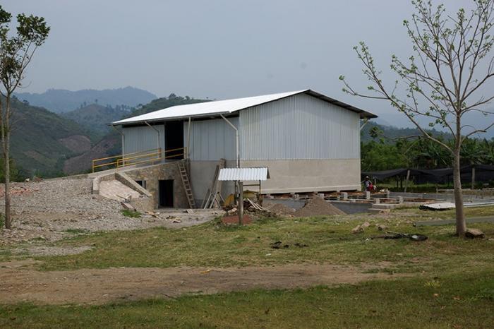 Construcción de un novedoso centro de fermentación y secado por parte de COAGRISAL