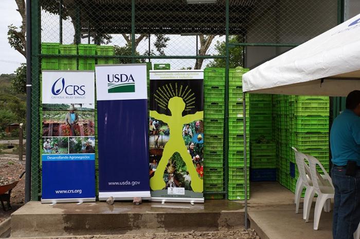 Inauguración de la planta de procesamiento de vegetales de COOSMPROJIN, Jinotega, Nicaragua