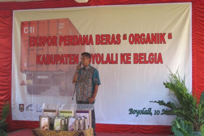 Ekspor Perdana Beras Organik APPOLI