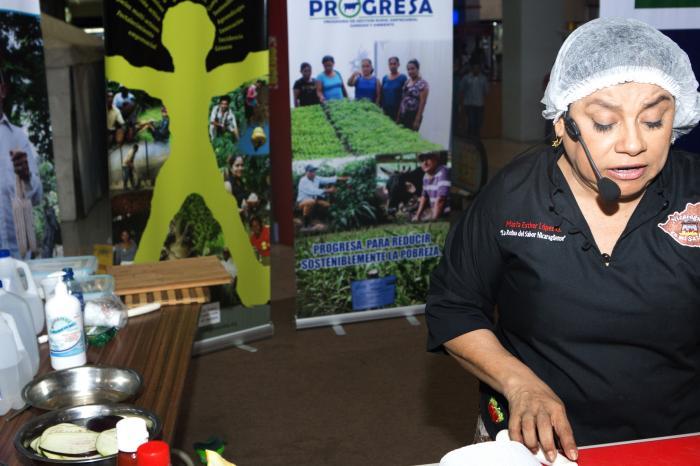 Vegetales sanos para Managua