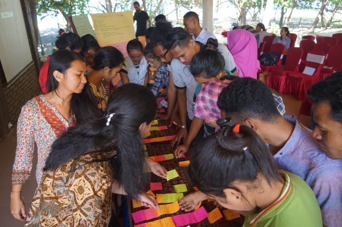 Impulsando el potencial de los jóvenes para crear cambios