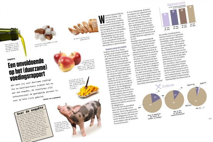 Vlaming gebuisd op kennis over voeding