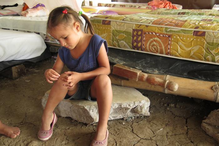 Apoyo humanitario en la zona afectada por el terremoto
