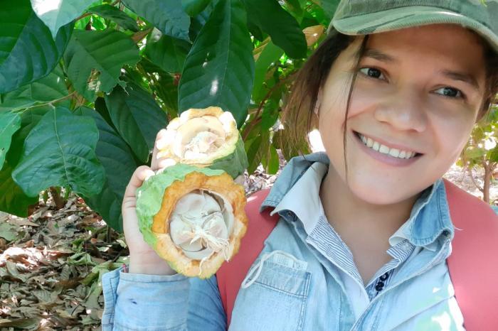 Jóvenes lideres cacaoteros salvadoreños fortalecen capacidades en cacao