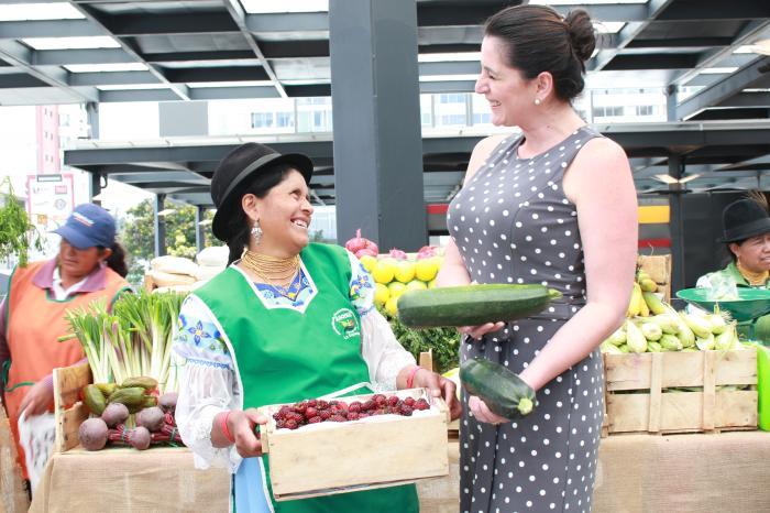 Yachik: productos agroecológicos ahora en nuevo mercado de Quito