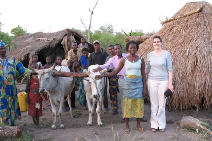 Rijst uit Benin in de Colruyt: op naar 2010