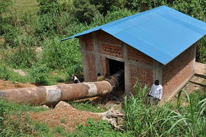 Werken aan waterkrachtcentrale Noord-Kivu in laatste fase