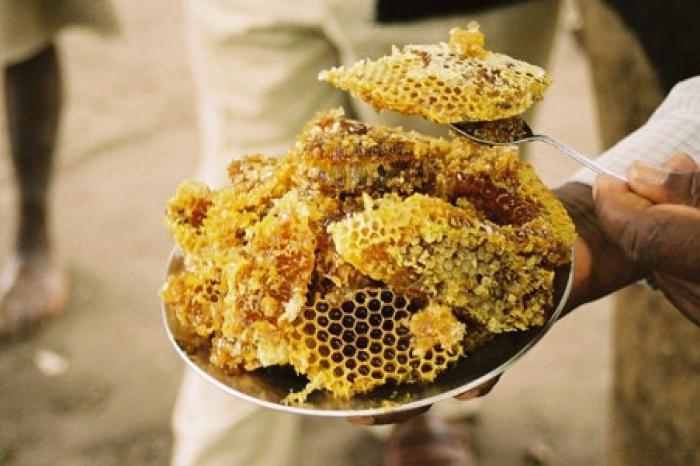 Zoete honing uit Same