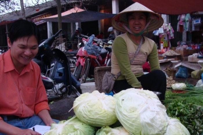 Promocampagne voor veilige groenten