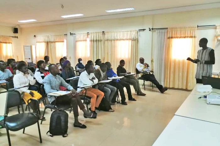 GENERATION FOOD Ouagadougou : des jeunes se préparent à performer  dans l'entrepreneuriat agroalimentaire