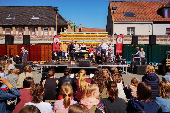 Fairstival zet Sint-Jozef Humaniora Brugge op z'n kop