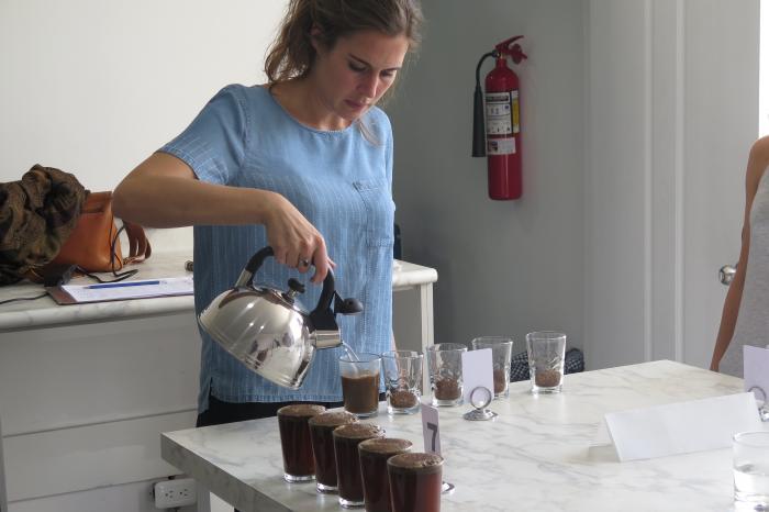 Audrey Claeys: Q voor de koffieboeren