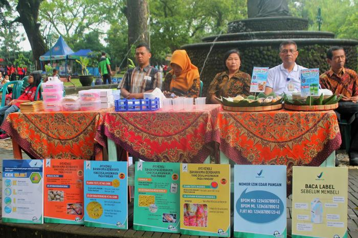 Healthy School Snacks Festival in Solo, Indonesia