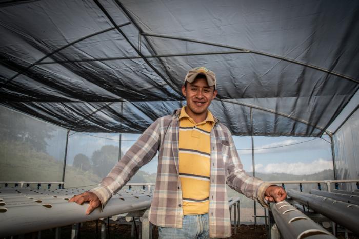 Hydrocultuur geeft boeren veerkracht in moeilijke tijden