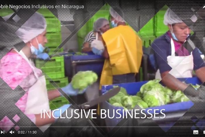 Video: Foro sobre Negocios Inclusivos en Nicaragua