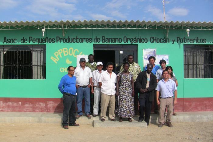 Senegalese boeren leren in Peru