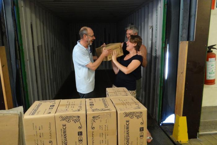 Beras Organik Boyolali pun Tiba di Belgia