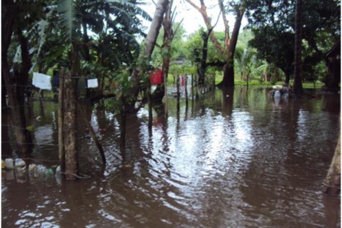 Vredeseilanden ondersteunt boerenfamilies na zware overstromingen in Honduras