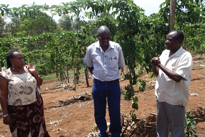 """In East Africa, the market potential for small-scale agriculture is huge""."