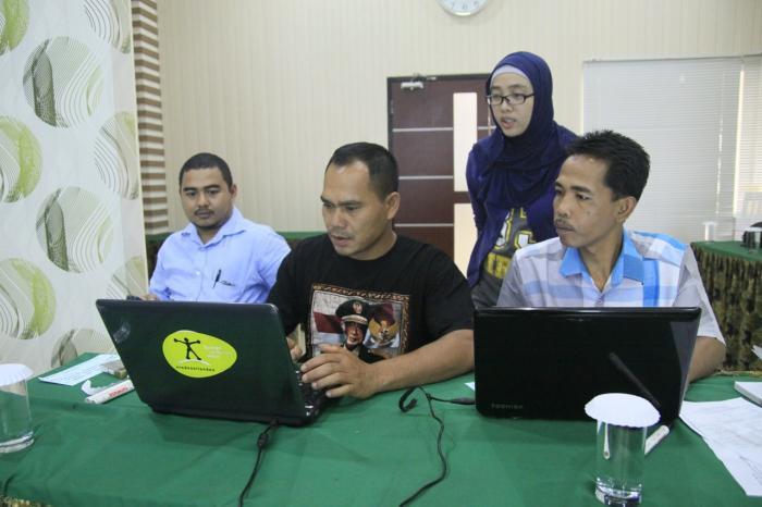Pelatihan Internet dan Publikasi Mitra di Kerinci