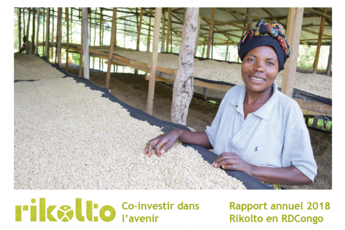Co-investir dans l'avenir, le rapport annuel 2018 de Rikolto en RDCongo